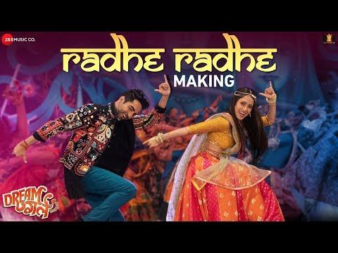 radhe-radhe-making-|-dream-girl-|-ayushmann-khurrana-|-nushrat-bharucha