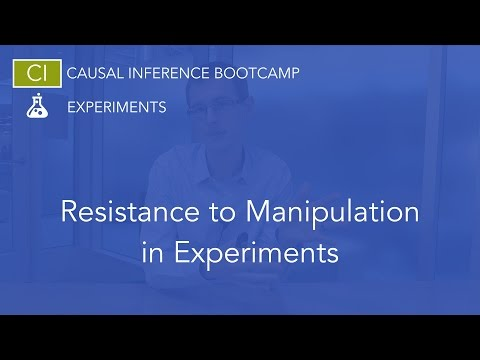 Resistance to Policy Manipulation in Natural Experiments: Causal Inference Bootcamp