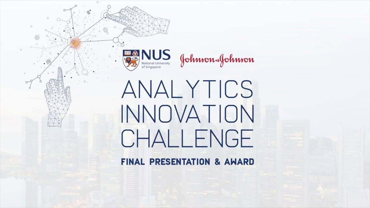 NUS Johnson & Johnson Analytics Innovation Challenge 2019