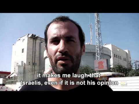 Jewish settler speaks about Arab culture...in Arabic