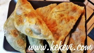 Chi Borek (turkish Fried Meat Pie)