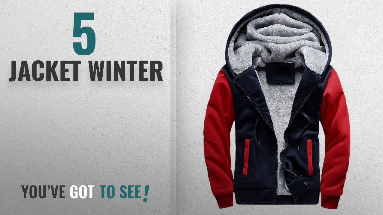 98f569c522b Top 10 Jacket Winter  2018   MANLUODANNI Men s Winter Black Warm ...
