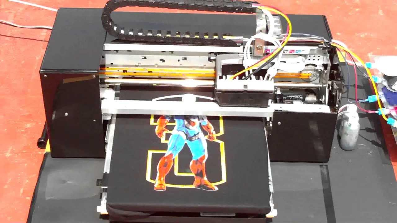 126a94414a306 Impresora de playeras. Serigrafia digital. - YouTube