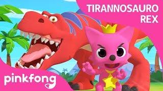 Tyrannosaurus rex-dans met PINKFONG | Dinosaurusliedjes | PINKFONG liedjes voor kinderen