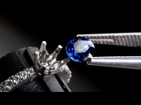 11bafa2489947 PLATINUM CEYLON SAPPHIRE RING - Part 2 - YouTube