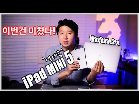 애플 아이패드 미니5 (iPad mini5 64GB cellular space gray) 이야기.