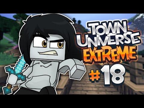 TOWN UNIVERSE EXTREME: ¡EN BUSCA DE DIAMANTES! #18 (MINECRAFT SERIE DE MODS)