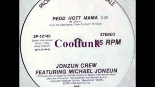 "Jonzun Crew Feat Michael Jonzun - Redd Hott Mama (12"" Electro-Funk 1985)"