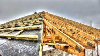Test szczelnosci membrany dachowej #31 Jak wykonać pokrycie dachowe?. Budowa domu 2017. Dzień 35
