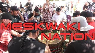Meskwaki Nation (Contest Song #1) @ Northern Ute 4th of July (Fort Duchesne) Powwow 2019 Resimi
