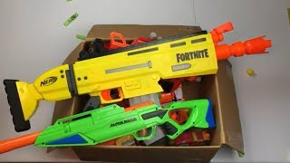 Nerf Fortnite Box of Toys Toy Guns Nerf Blasters
