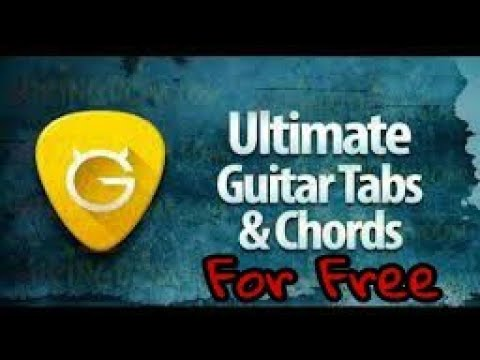 Ultimate Guitar Tabs & Chords apk for free - YouTube
