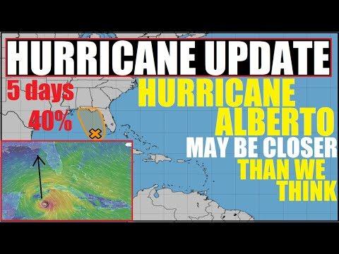 HURRICANE ALBERTO? Gulf Of Mexico National Hurricane Center Says 40% Chance Over 5 days!