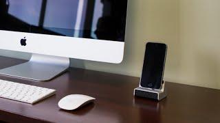 The iPhone Charging Dock Wi-Fi DVR Hidden Camera from GadgetsAndGear.com