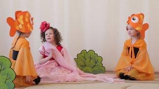 Дюймовочка театральная постановка в детском саду