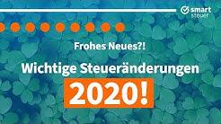 Wichtige Steueränderung 2020 !