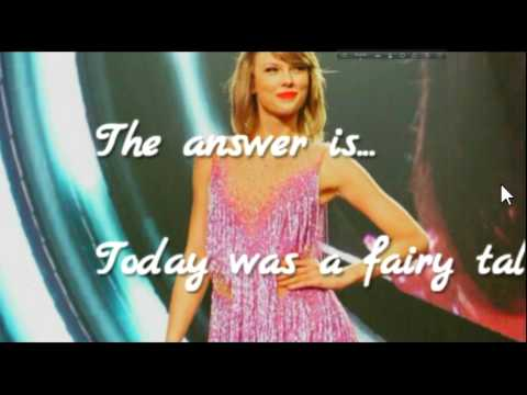 Can you guess the TAYLOR SWIFT SONG? (when it is in fast mode?) QUIZ