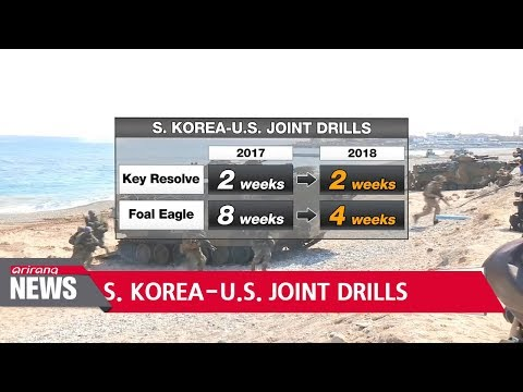 S. Korea-U.S. joint military drills to begin on April 1st, last shorter than previous years