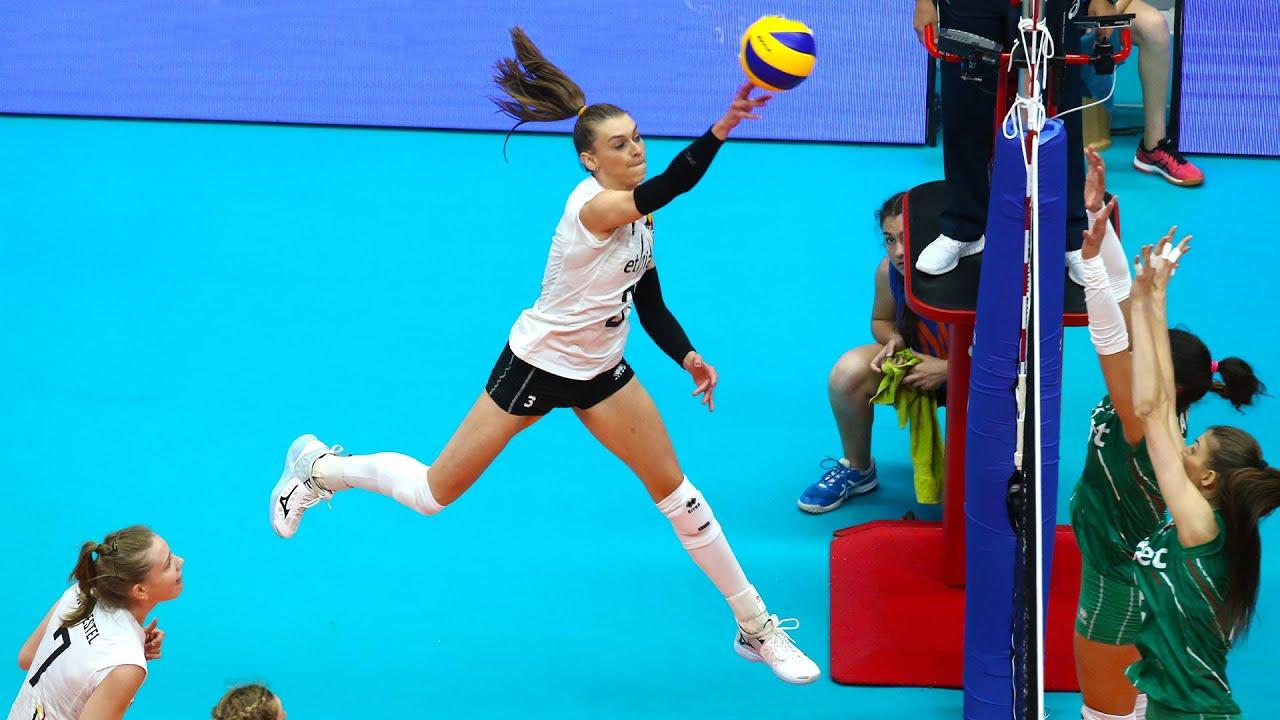 Britt Herbots  - Rising Volleyball Star from Belgium! | VNL 2019 | Highlights