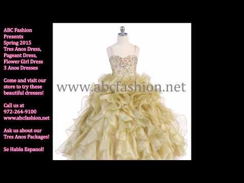 Flower Girl Dress, Tres Anos Dresses, Vestidos de Tres Anos ...