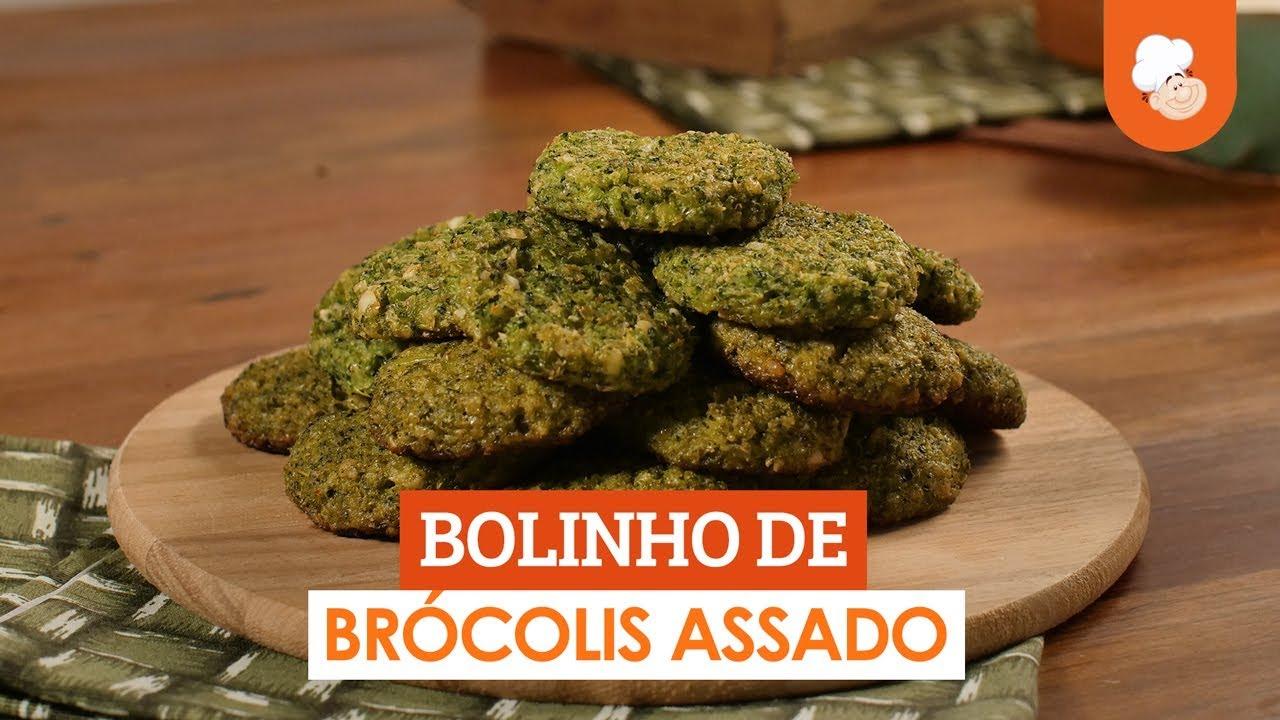 Bolinho de brócolis assado — Receitas TudoGostoso