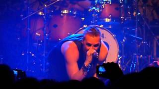 Locking up the Sun (LIVE) - Poets of the Fall @ Munich 19.11.12