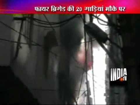 Garments factory gutted in East Delhi fire
