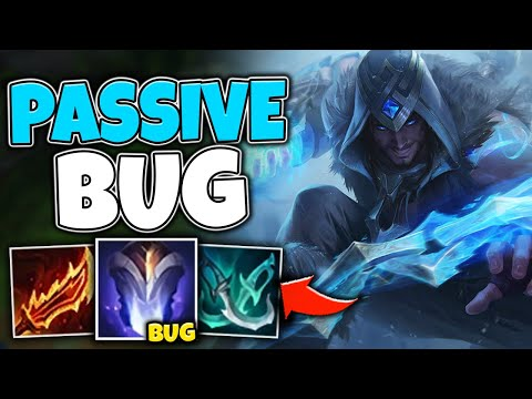 WTF? THIS SYLAS BUG GIVES YOU ENDLESS PASSIVE STACKS! (BEYOND BUSTED) - League of Legends