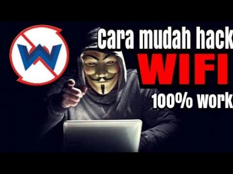 Cara hack WIFI 100% work tanpa root!!