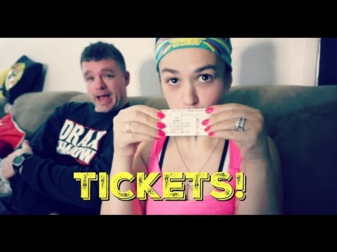 We got our WWE Payback Tickets! (Daily #968)