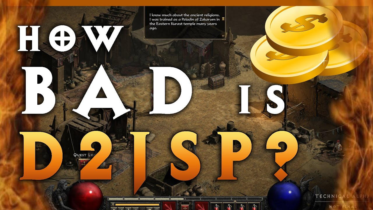 How BAD is D2jsp? | The Truth about Diablo 2's Largest Trading Community