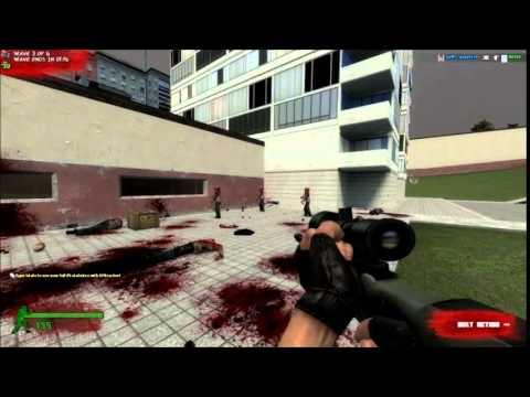 GMOD Zombie Survival 2 Weapons Development 1