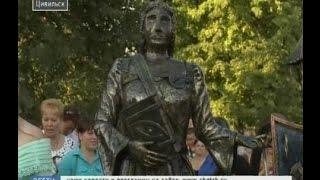 В Цивильске в День города открыли памятник Екатерине II