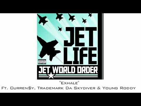 """Jet Life -""""Exhale"""" (feat. Curren$y, Trademark Da Skydiver & Young Roddy) [Official Audio]"""