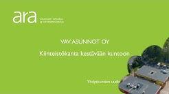 VAV Asunnot Oy ja Vantaan kaupunki