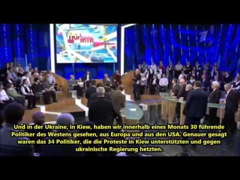 """Ukrainischer Oppositionsführer Klitschko - """"Mann der Deutschen"""" - russ. TV"""