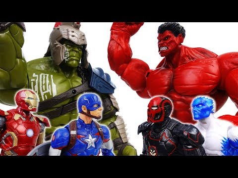 Go Avengers, The Villains Are Coming~! No one is match for Gladiator Hulk - ToyMart TV