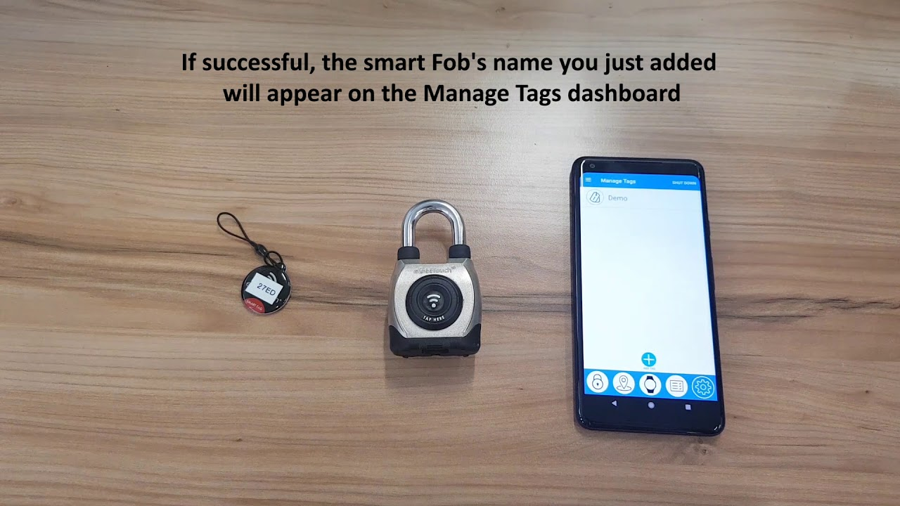 How to ADD/DELETE Smart NFC Tags/Fobs through eGeetouch app (Android)