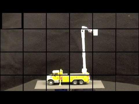 ANIMATED UTILITY CRANE HO MODEL RAILROAD