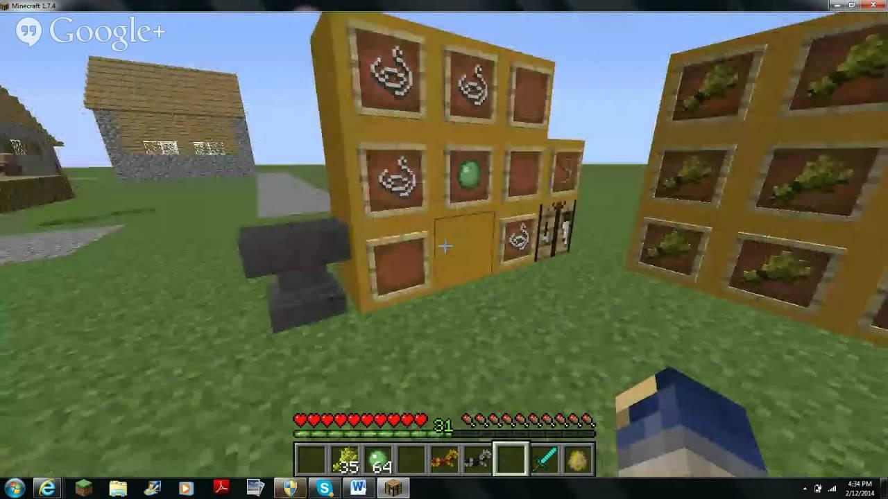 Crafting Saddle Minecraft