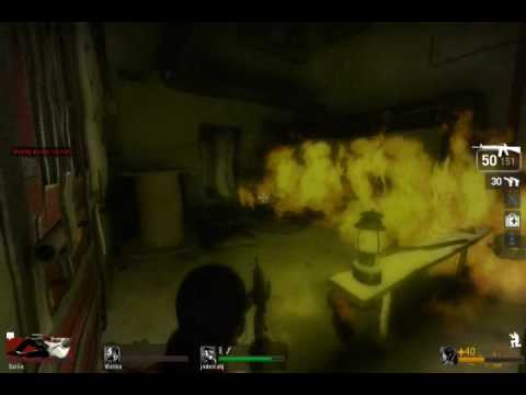 Left 4 Dead - Getting in safe room FAIL