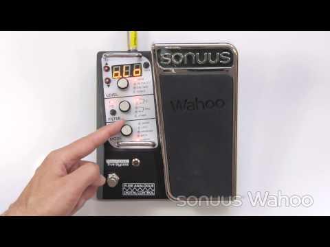 Sonuus Wahoo Preset Selection by Foot