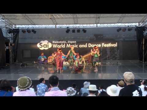 2015 Hakodate,Japan World Music and Dance Festival Indonesia team (1)