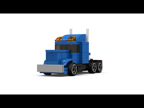 Lego Mini Semi Truck Instructions