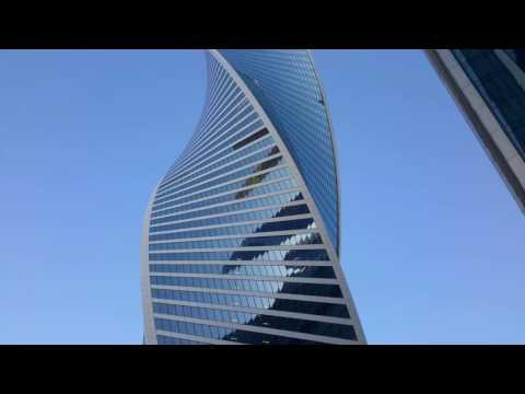 Moscú. Torre Evolución en el complejo Moscow city.