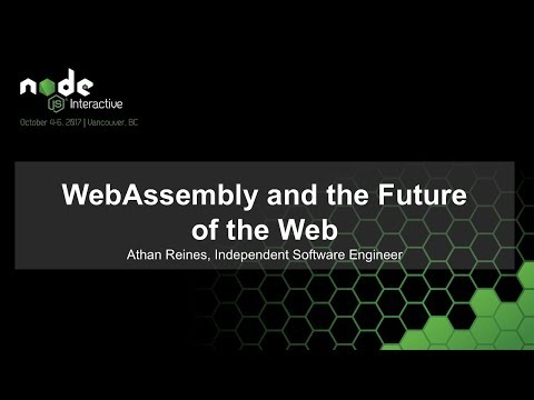 WebAssembly and the Future of the Web [I]