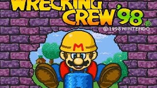 SNES Wrecking Crew