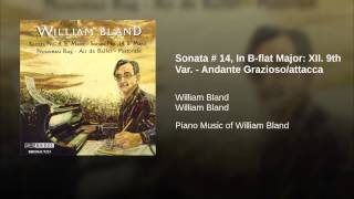 Sonata # 14, In B-flat Major: XII. 9th Var. - Andante Grazioso/attacca