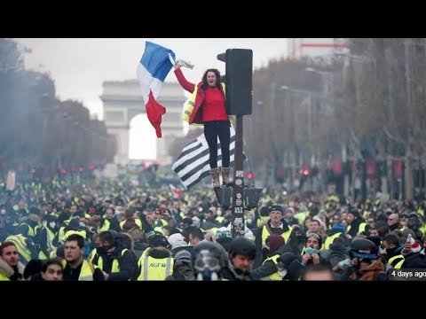French yellow vest protest explained for non europeans