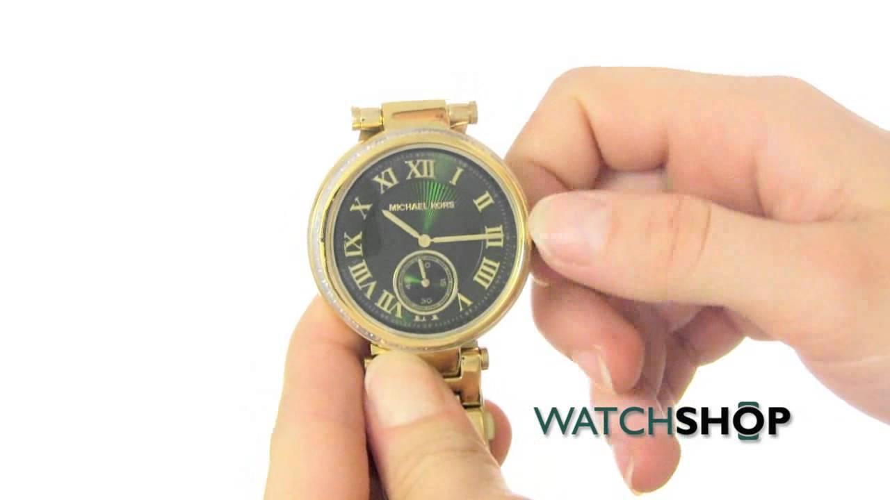 208351813 Michael Kors Ladies' Skylar Watch (MK6065) - YouTube